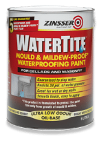 Zinsser WATERTITE Mould & Mildew-Proof Waterproofing Paint